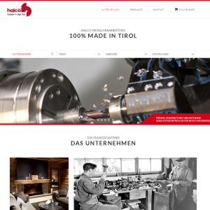 Halcö Webseite
